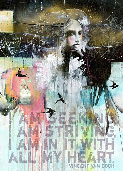 The Swallows by Anahata katkin for PAPAYA